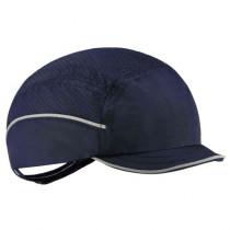 Skullerz® 8955 Lightweight Bump Cap Hat, Navy, Micro Brim