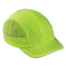 Skullerz® 8950 Bump Cap, Lime, Short Brim