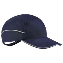 Skullerz® 8955 Lightweight Bump Cap Hat, Navy, Long Brim
