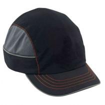 Skullerz® 8950 Bump Cap, Black, Short Brim