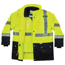 GloWear® 8388 4-in-1 Thermal High Visibility Jacket Kit - Type R, Class 3/2