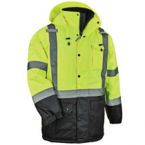 GloWear® 8384 Thermal High Visibility Jacket, Class 3, Quilted Parka