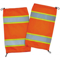 GloWear® 8009 Class E Two-Tone Mesh Leg Gaiters, Orange