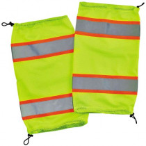 GloWear® 8009 Class E Two-Tone Mesh Leg Gaiters, Lime