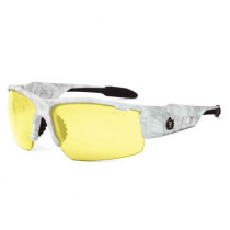 Skullerz® Dagr Safety Glasses/Sunglasses, Kryptek Yeti Frame, Yellow Lens Color