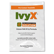 Acme United IvyX Pre-Contact Solution Pack, 50/box