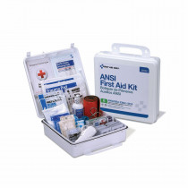 First Aid Only® 90566 Type III First Aid Kit -  Wall Mount -  50 People -  Plastic Case