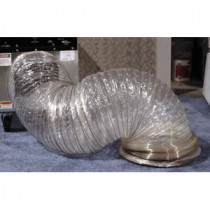 Mylar non-insulated flexible ducting