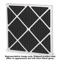 Carbon Air Filter, Pleated, 16 x 16 x 1