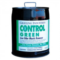 Grayling Industries CONTROL GREEN Mastic Remover, 5 Gallon