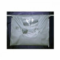 Grayling™ PC30072120 High Temperature Asbestos Glovebag -  120 in L x 72 in W -  Vertical/Horizontal