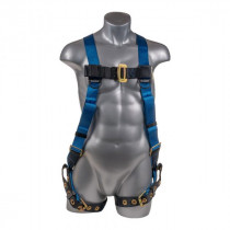 Palmer Safety Harness, 5pt Adjustment, Back D-Ring, Size 3XL