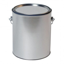 Metal Paint Bucket and Lid, 1 Gallon