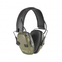 Howard Leight by Honeywell R-01526 Ear Muffs -  22 dB -  Folding -  Green -  Leather Headband