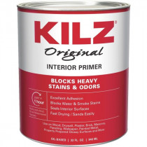 Kilz® Original Interior Primer, Sealer, and Stain Blacker, 1 Gallon