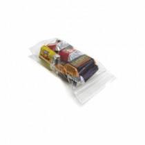 Huckster 62/01/35 Reclosable Bag -  5 in L x 3 in W x 4 mil THK -  Zip Seal Closure -  Polyethylene