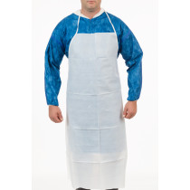 "International Enviroguard MicroGuard MP® Microporous Apron, 28"" x 46"", Ties in Back"