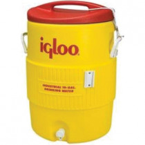 Igloo® 4101 Beverage Cooler -  10 gal -  23.85 in H -  Yellow -  Plastic