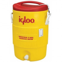 Igloo® 451 Heavy Duty Beverage Cooler -  5 gal -  20.38 in H -  Yellow -  Plastic