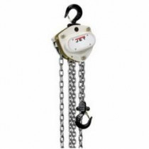 JET® L-100 Hand Chain Hoist -  3 ton Load -  10 ft Lifting Height -  20-1/8 in -  79 lb