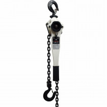 JET® JLP-075A-5 Light Duty Lever Chain Hoist -  3/4 ton Load -  5 ft Lifting Height -  31 lb Rated -  1.46 in Hook