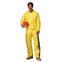 Lakeland® C5412-2X Chemical Resistant Coverall 25 per CASE -  2XL -  52 - 54 in Chest -  29 in Inseam -  Yellow