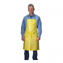 Lakeland® C650 Light Weight Chemical Resistant Apron With Sewn Ties 100 per CASE -  36 in L -  Yellow