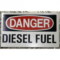 Labels -  Danger Diesel Fuel 3 In - X 5 In