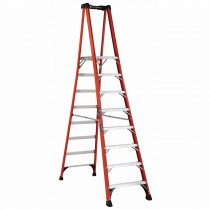 Louisville® FXP1808HD Extra Heavy-Duty Platform Stepladder -  8 ft Ladder -  375 lb Load -  7 ft 7 in x 14-1/2 in