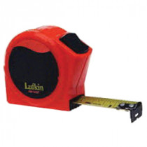 Lufkin® HV1425 High Visibility Tape Measure -  1 in W x 25 ft L Blade -  Steel -  Imperial