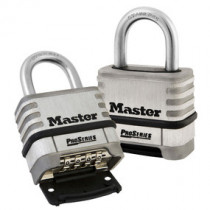 2-1/4 in Wide ProSeries® Stainless Steel Resettable Combination Padlock