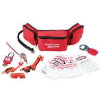 Group Safety Lockout Kit, Electrical Focus w/ Zenex™ Thermoplastic Padlocks