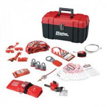 Master Lock® 1457VE3KA Keyed Alike Personal Lockout Kit