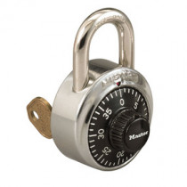 1-7/8 in General Security Combination Padlock w/ Key Control Feature