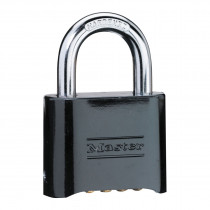 Master Lock® 178BLK Combination Resettable Safety Padlock -  Black