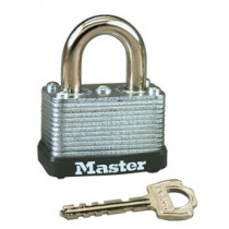 1-1/2 in Wide Laminated Steel Warded Padlock