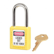 "Master Lock® 410 Zenex™ Lockout Padlock, Keyed Different, 1-1/2"" Shackle"