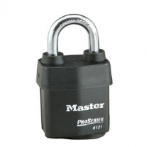 Master Lock® 2-1/8 in Wide ProSeries® Weather Tough® Laminated Steel Rekeyable Pin Tumbler Padlock