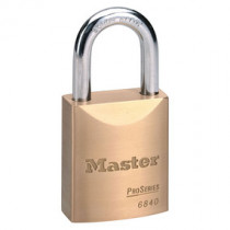 Master Lock® 1-3/4 in Wide ProSeries® Solid Brass Rekeyable Pin Tumbler Padlock