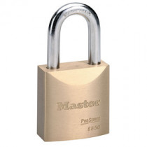Master Lock® 2 in Wide ProSeries® Solid Brass Rekeyable Pin Tumbler Padlock