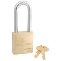 Master Lock® 2 in Wide ProSeries® Solid Brass Rekeyable Pin Tumbler Padlock w/ 2-1/2 in Shackle