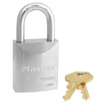 Master Lock® 1-3/4 in Wide ProSeries® Solid Steel Rekeyable Pin Tumbler Padlock