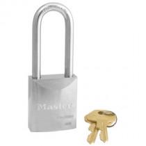 Master Lock® 1-3/4 in Wide ProSeries® Solid Steel Rekeyable Pin Tumbler Padlock w/ 2-7/16 in Shackle