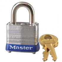 Master Lock® 1-1/8 in Wide Laminated Steel Pin Tumbler Padlock