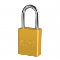 American Lock® A1106KA Rekeyable Safety Padlock, Yellow