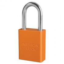 American Lock® A1106ORJ Anodized Aluminum Safety Padlock, Orange