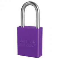 American Lock® A1106PRP Anodized Aluminum Safety Padlock, Purple