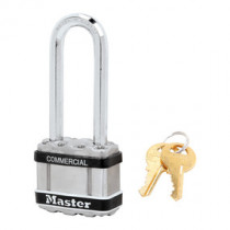 Master Lock® M1KALJSTS Commercial Magnum Laminated Steel Padlock