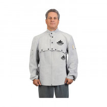 Memphis 38120MW Welding Bib -  Gray -  Leather