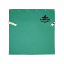 Memphis 39120 Welding Bib With Snap -  9 oz Fabric -  Green -  100% Cotton
